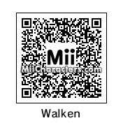 QR Code for Christopher Walken by Tocci