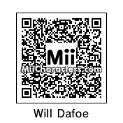 QR Code for Willem Dafoe by Ajay