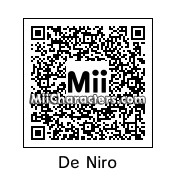 QR Code for Robert De Niro by Brandon
