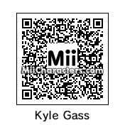 QR Code for Kyle Gass by Brandon