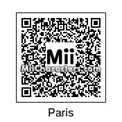 QR Code for Paris Hilton by Brandon