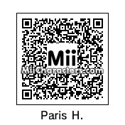 QR Code for Paris Hilton by Tocci