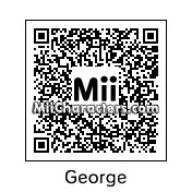 QR Code for George Clooney by Brandon