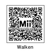QR Code for Christopher Walken by Brandon