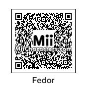QR Code for Fedor Emelianenko by Tocci