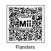 QR Code for Ned Flanders by Phillip