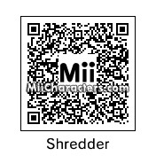 QR Code for Shredder by !SiC