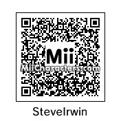 QR Code for Steve Irwin by Tocci