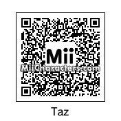 QR Code for The Tasmanian Devil by !SiC