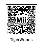 QR Code for Tiger Woods by Tocci