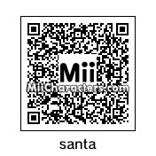 QR Code for Santa Claus by Mr. Tip