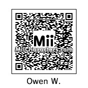 QR Code for Owen Wilson by rababob