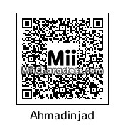 QR Code for Mahmoud Ahmadinejad by rababob