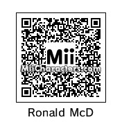 QR Code for Ronald McDonald by BobbyBobby