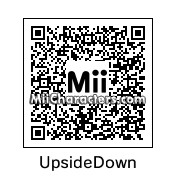 QR Code for Upside Down by Tocci
