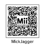 QR Code for Mick Jagger by Gooby