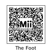QR Code for Foot Ninja by !SiC