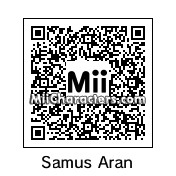 QR Code for Samus Aran by BobbyBobby