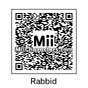 QR Code for Rayman's Raving Rabbid