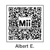 QR Code for Albert Einstein by Tito