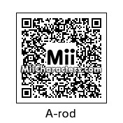 QR Code for A-Rod by Tito