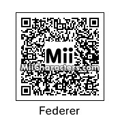 QR Code for Roger Federer by Tocci