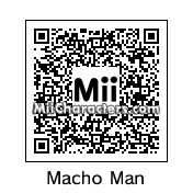 "QR Code for Randy ""Macho Man"" Savage by Tito"
