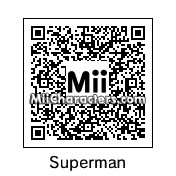 QR Code for Superman by Cjv
