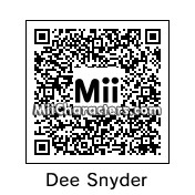 QR Code for Dee Snyder by !SiC