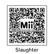 QR Code for Sergeant Slaughter by !SiC