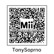 QR Code for Tony Soprano by rababob