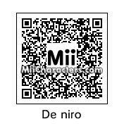 QR Code for Robert De Niro by Ajay