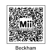 QR Code for David Beckham by celery