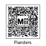 QR Code for Ned Flanders by !SiC