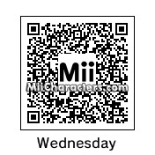 QR Code for Wednesday Addams by !SiC