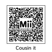 QR Code for Cousin Itt by !SiC
