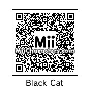 QR Code for Black Cat by Mr. Tip