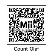 QR Code for Count Olaf by !SiC