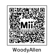 QR Code for Woody Allen by celery