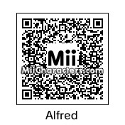 QR Code for Alfred Pennyworth by PRMan