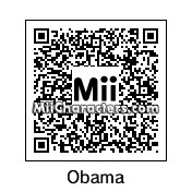 QR Code for Barack Obama by rababob