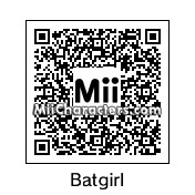 QR Code for Batgirl by PRMan!!