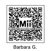 QR Code for Barbara Gordon by PRMan!!