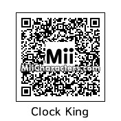 QR Code for Clock King by PRMan!!