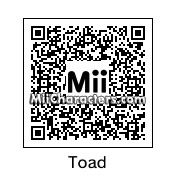 QR Code for Toad by Toon and Anime