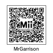 QR Code for Mr. Garrison by Toon and Anime