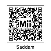 QR Code for Saddam Hussein (Before) by !SiC