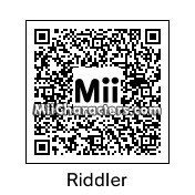 QR Code for The Riddler by PRMan!!