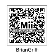 QR Code for Brian Griffin by Toon&Anime