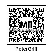 QR Code for Peter Griffin by Toon and Anime